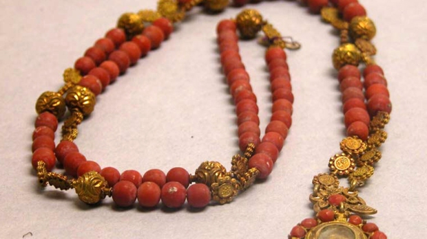 CORAL ROSARY