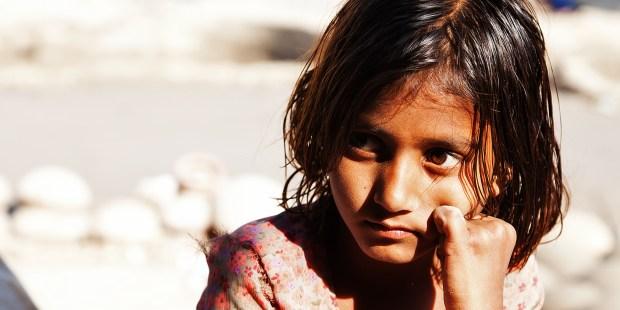 GIRL, ORPHAN, INDIA