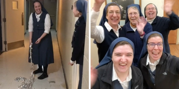 Sister Bethany from the Daughters of St. Paul