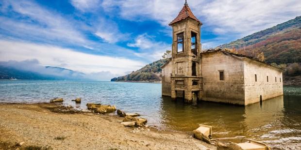 Alla scoperta delle chiese sommerse