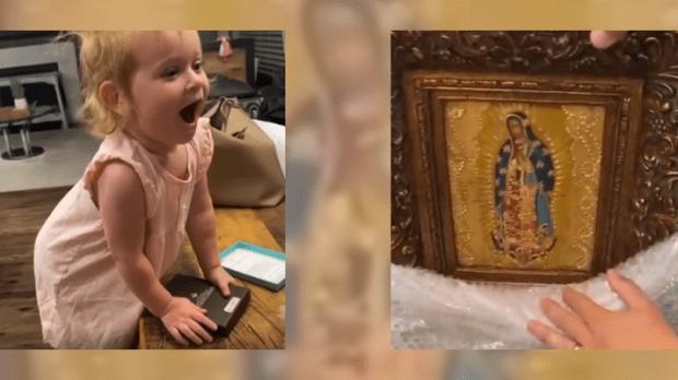 Pia ganha imagem de Nossa Senhora de Guadalupe
