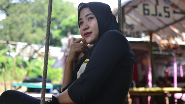 INDONESIA, GIRL, BLACK