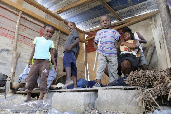 HAITI, CHILDREN, EARTHQUAKE