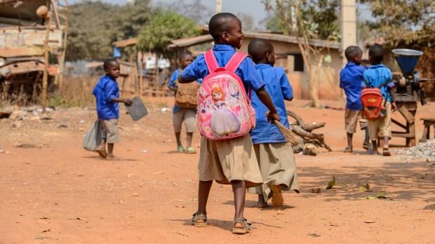 KIDS, AFRICA, SCHOOL
