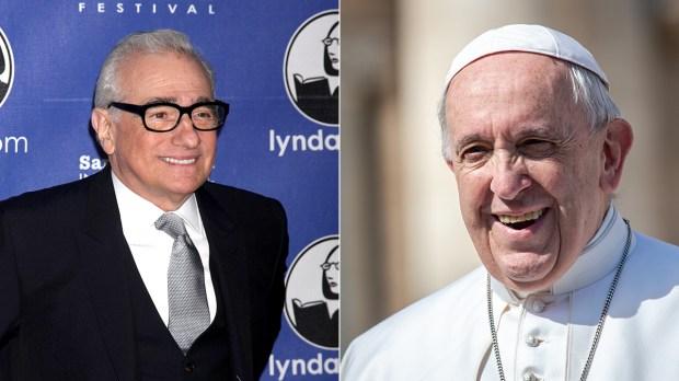 Martin-Scorsese-e-Papa-Francesco